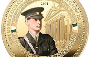 Anger over Michael Collins medal