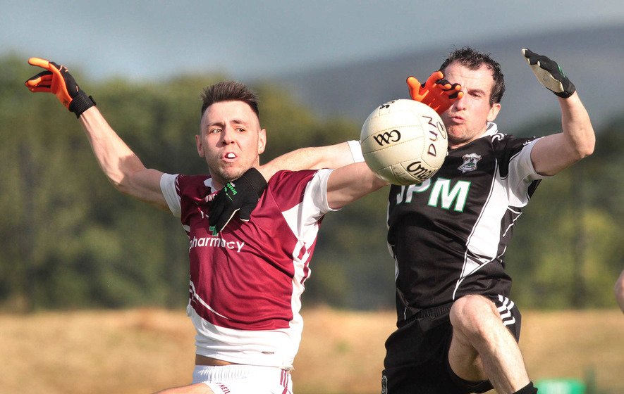 Kilrea's firepower  may edge  Banagher in Derry SFC