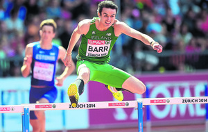Ireland's Thomas Barr confident ahead of 400m hurdles final