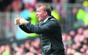 'Celtic haven't qualified for Champion's League just yet' insists Brendan Rodgers