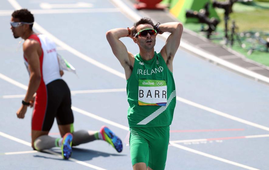 Thomas Barr falls agonisingly short of podium finish in Rio