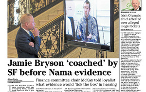 Jamie Bryson threatens legal action over Nama email leaks