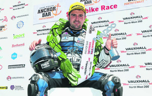 Michael Dunlop takes in Ulster Rally ahead of TT challenge