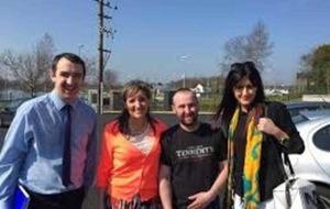 Sinn Féin suspends party worker Thomas O'Hara over 'Jamie Bryson contact'