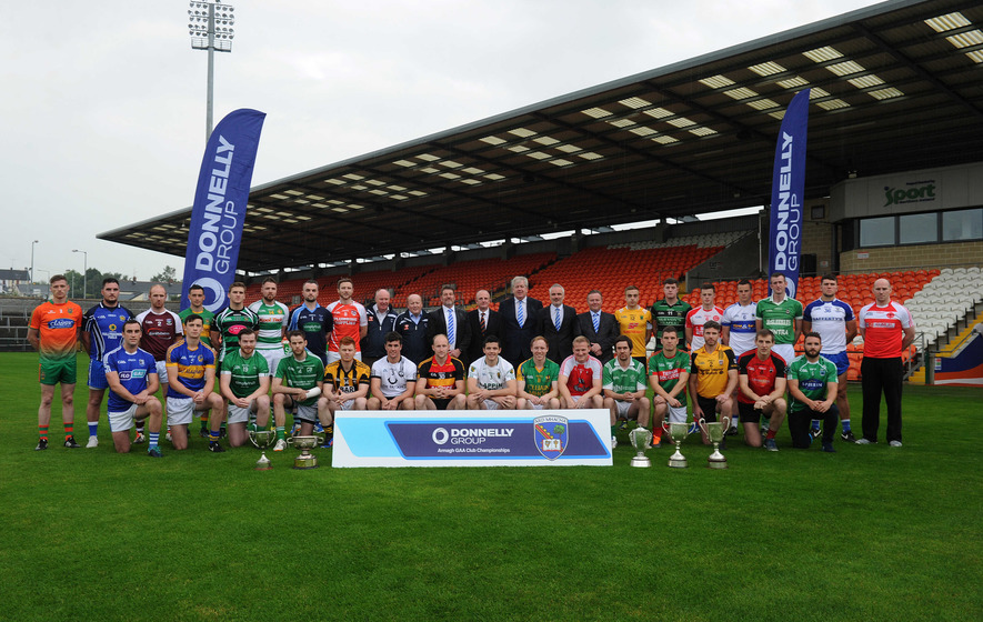 Launch of Donnelly Group Armagh GAA Club Championship