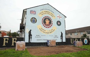 Housing Executive 'unaware' of building work at UDA mural