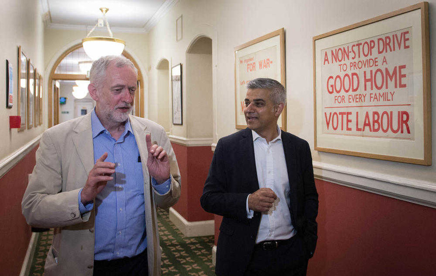Jeremy Corbyn supporters hit back at mayor Sadiq Khan over his Owen Smith endorsement