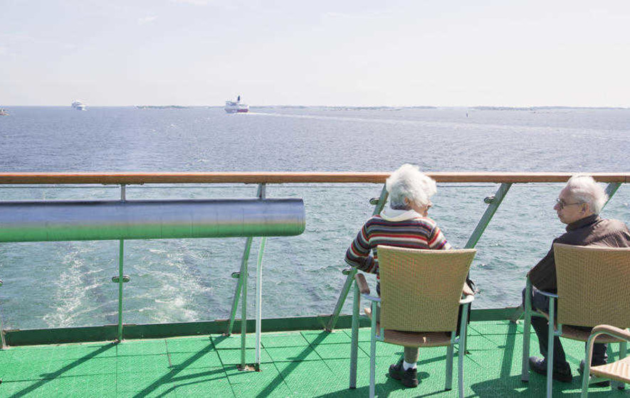 When the nursing home beckons, you could do worse than go on a cruise