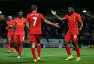 Liverpool banish memories of Burnley loss in Burton rout