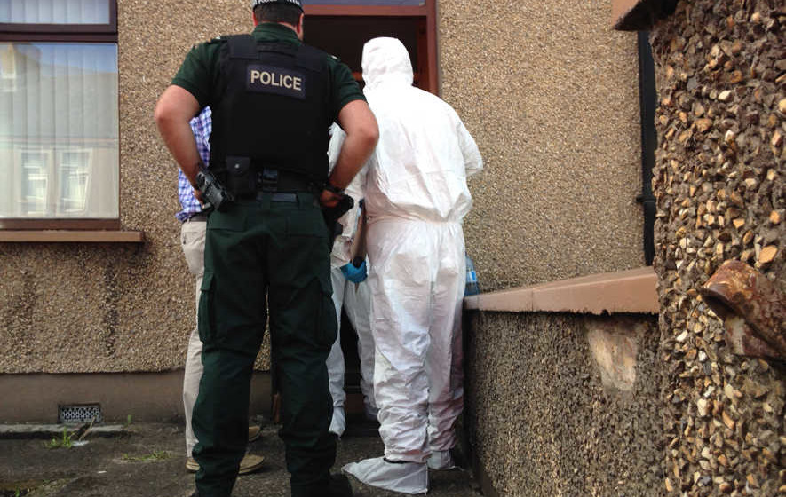 British soldier terror arrest 'linked to Carnfunnock and Capanagh arms dumps'