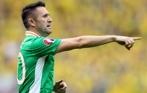 Republic of Ireland striker Robbie Keane announces international retirement