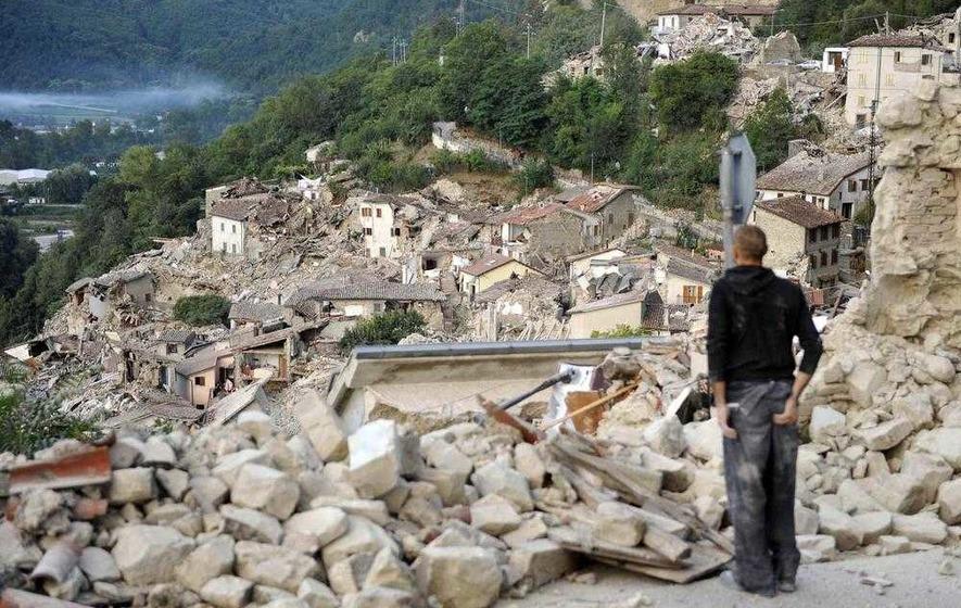 Irishman speaks of family's Italian natural disaster fear