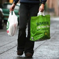 Almost 200 million fewer carrier bags being used since introduction of levy