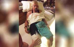 Richard Branson:' I thought I'd die in bike crash'