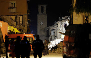 Aftershocks damage access routes to earthquake-damaged village