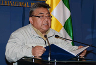 Government minister beaten to death by striking miners in Bolivia