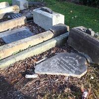 'Drunken louts' damage Jewish graves at Belfast City Cemetery