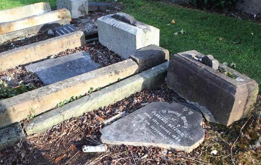 Bishop Noel Treanor condemns destruction of Jewish graves in Belfast City Cemetery