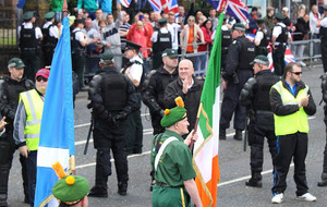Belfast republican parade passes off without incident despite loyalist protest
