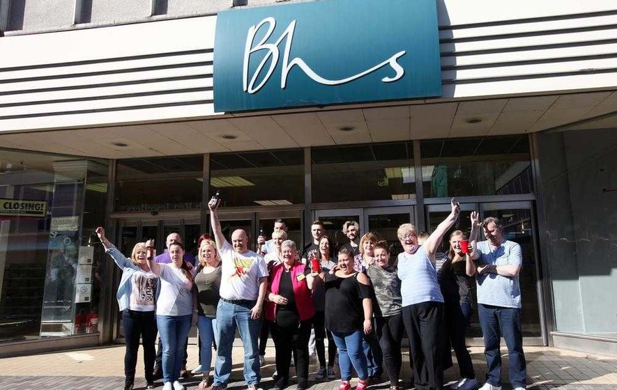 End of an era as BHS shuts shop in Belfast city centre for last time