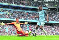 Pep Guardiola praises Raheem Sterling's performance