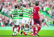 Brendan Rodgers gives 'brilliant' Celtic the thumbs up