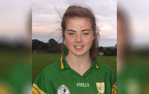 Ladies footballer recovers after sustaining neck injury on pitch