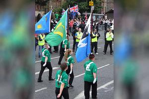 In Pictures: Henry Joy McCracken Parade in Belfast