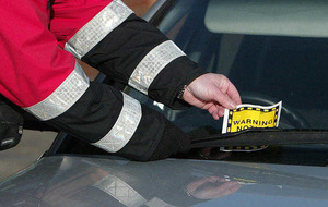 Car racks up nearly £5,000 in parking tickets