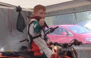Motocross victim was struck by older brother's bike