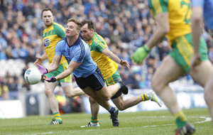 Donegal offers a break for Dublin's Ciarán Kilkenny