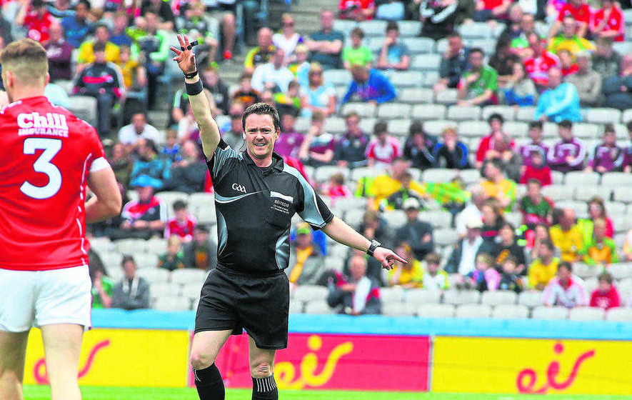 We can't make referees' jobs any harder: Jarlath Burns