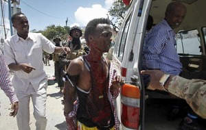 At least 12 killed in Somalia suicide bombing