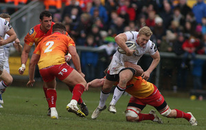 Ulster are waiting on Stuart Olding's availabilty