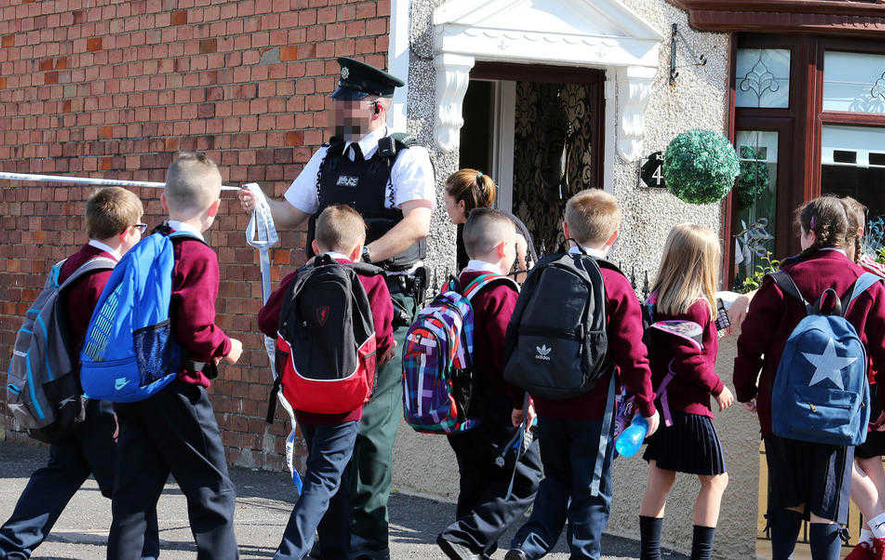 Belfast school evacuated after security alert on first day of term