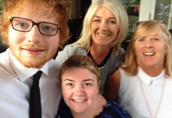 Ed Sheeran and Snow Patrol perform at Derry wedding