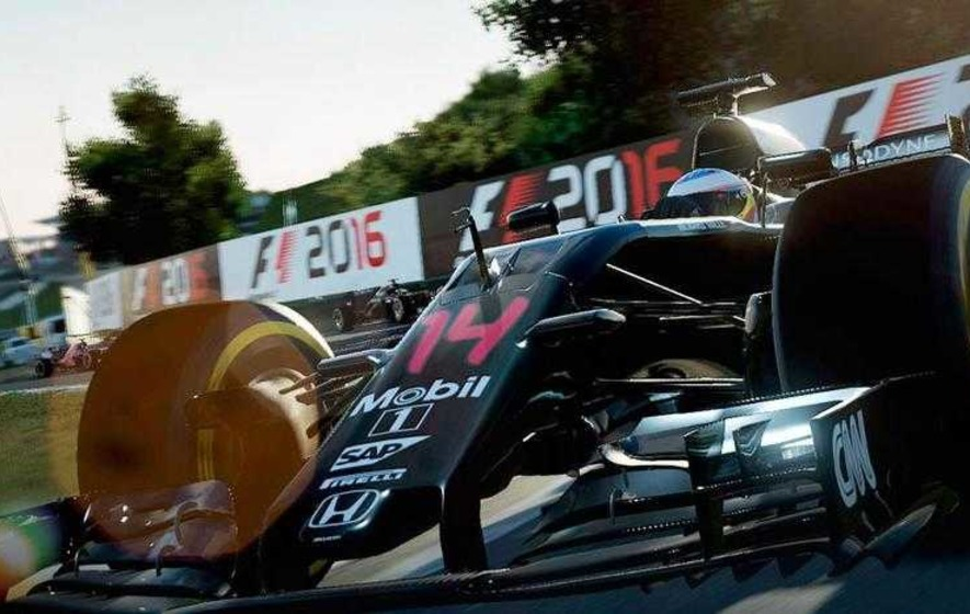 games f1 2016 takes pole position among racing sims the irish news. Black Bedroom Furniture Sets. Home Design Ideas
