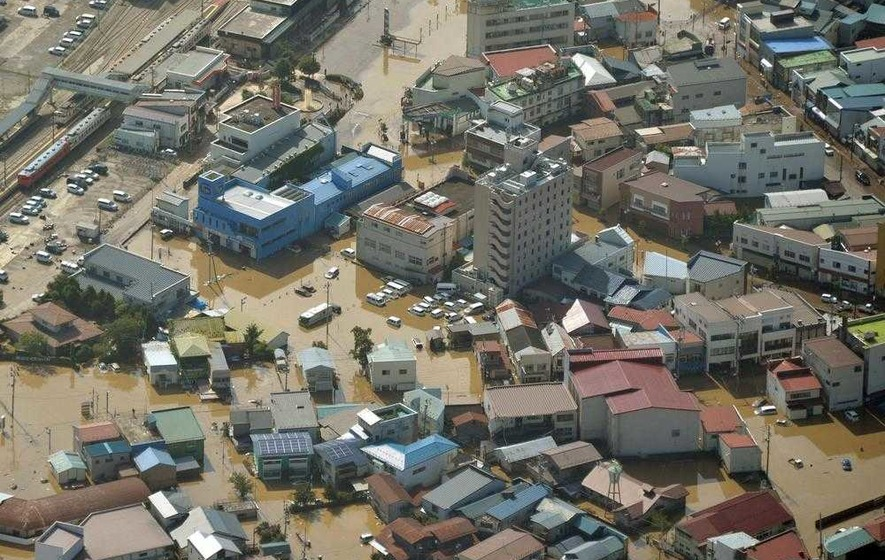 Nine found dead in Japan elderly home after typhoon