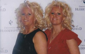Identical twin turned heads and raised spirits wherever she went