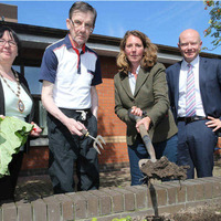 Belfast nursing home's new garden is a sensory celebration