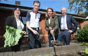 Belfast nursing home's new garden is a sensory celebration
