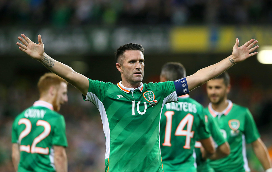 Stephen Ward leads praise as Robbie Keane bows out