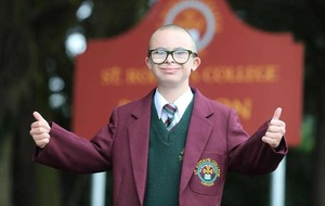 Celtic superfan Jay Beatty makes his move to secondary school