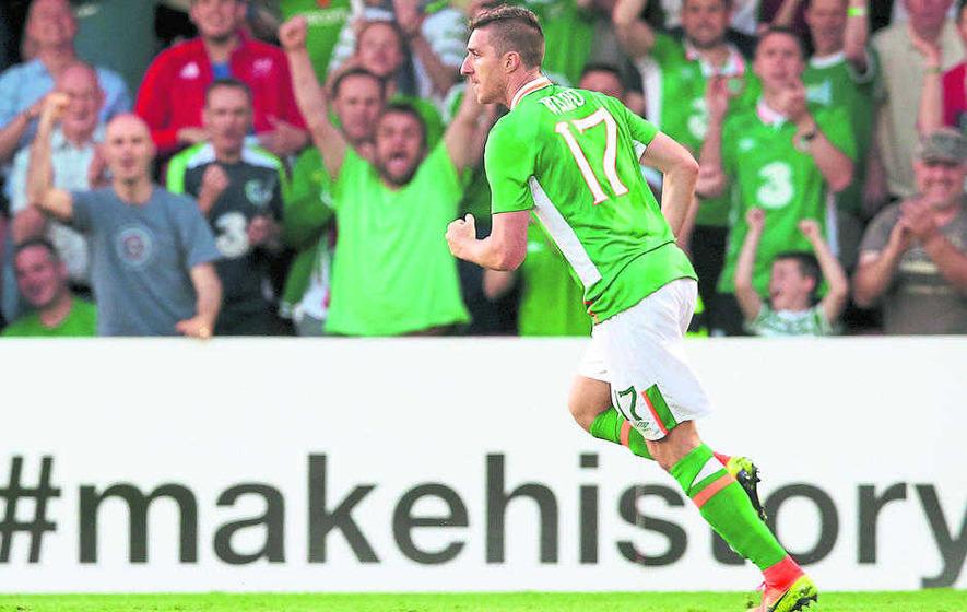 Republic of Ireland will miss Robbie Keane: Stephen Ward