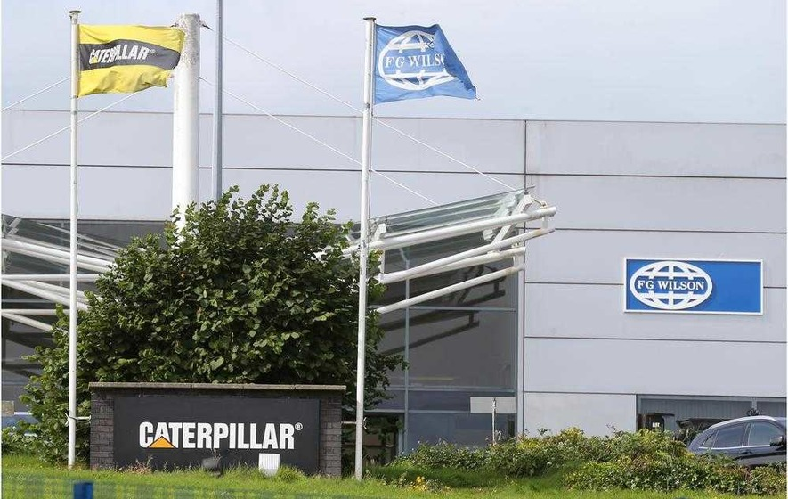 Caterpillar will cut up to 250 jobs and close Monkstown plant