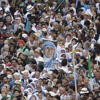 Mother Teresa made a saint by Pope Francis at the Vatican