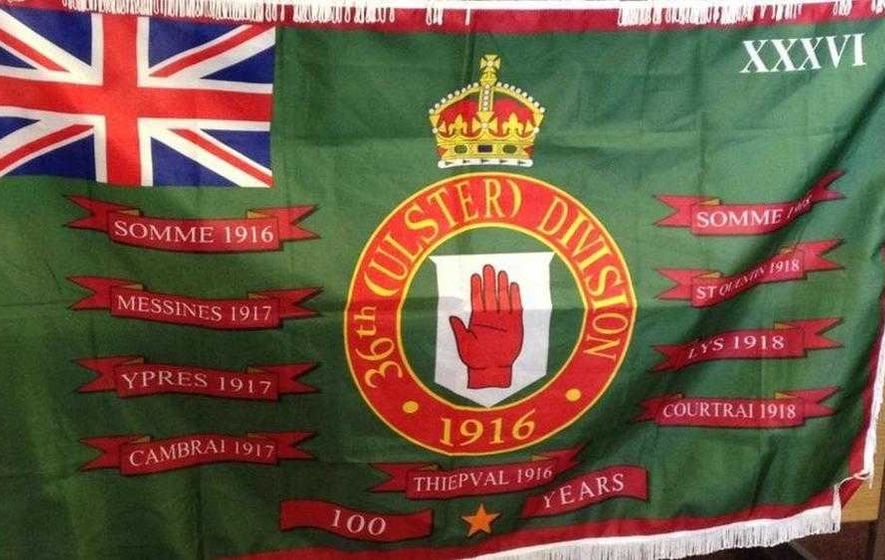 Loyalist group says all flags should be taken down