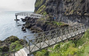 Gobbins Cliff Path to remain closed until next year