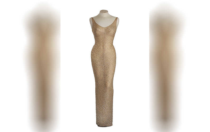 Marilyn Monroe's 'Happy Birthday' dress to be auctioned