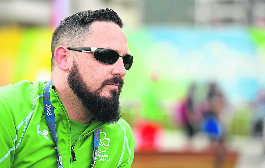 Phillip Eaglesham back from the brink and focused on Rio glory